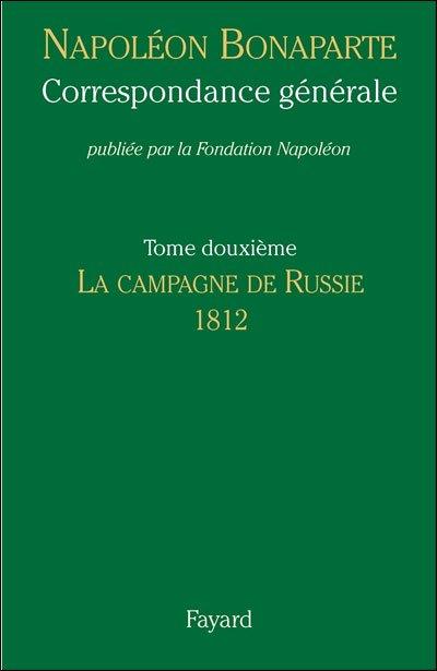 """CORRESPONDANCE GENERALE DE NAPOLEON..."""