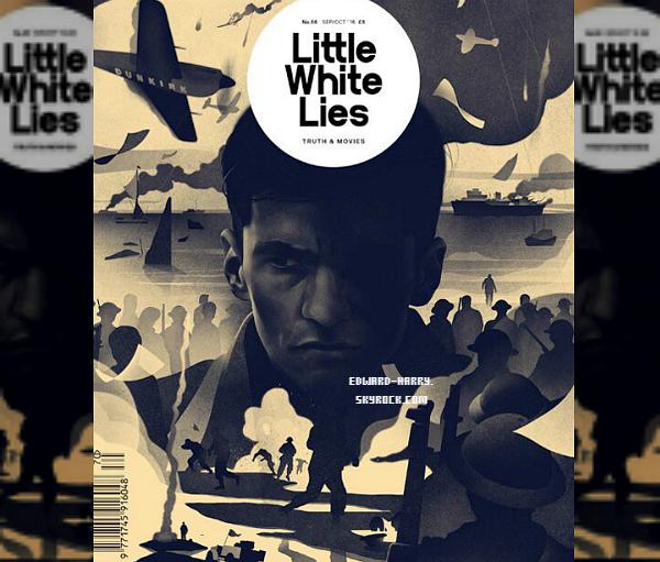 Couverture du magazine Little White Lies :
