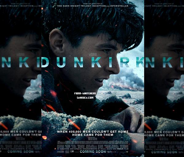 Nouvelle affiche de Fionn pour Dunkirk :