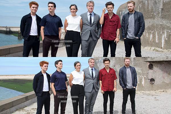16.07 - Photocall du cast à Dunkerque :
