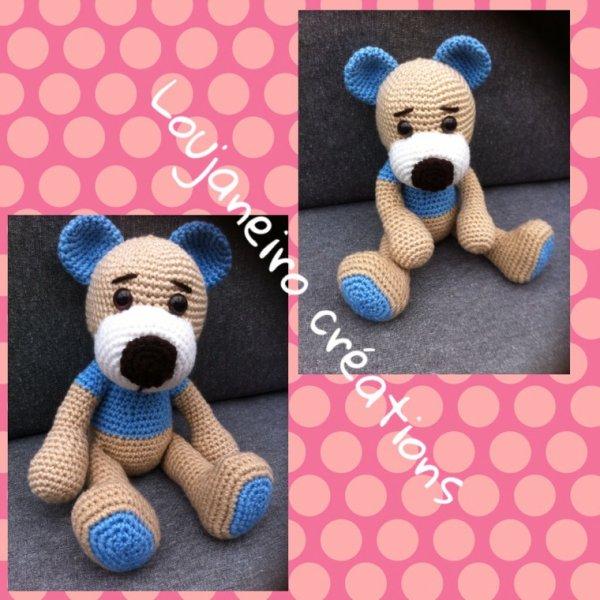 Un ourson au crochet