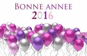 Bonne Année 2016 a tous