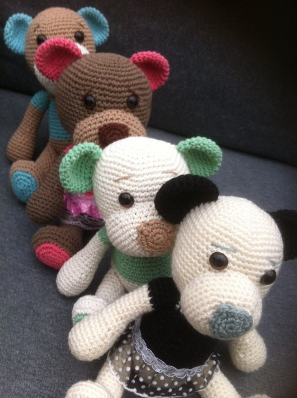 Une brochette d ours