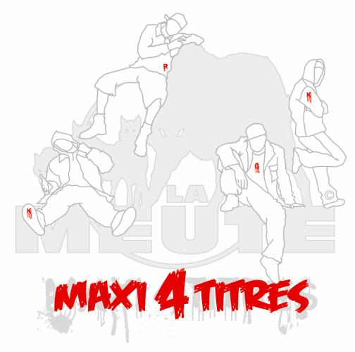 """MAXI 4 TITRES EXTRAIT DE L'ALBUM DE LA MEUTE """"DANSE AVEC LES LOUPS"""""""