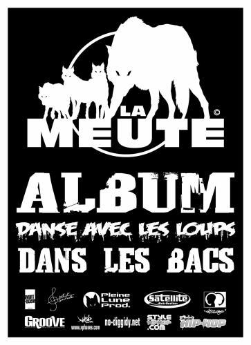 """L'ALBUM """"DANSE AVEC LES LOUPS"""" DANS LES BACS !!!"""