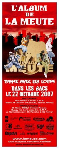 """L'ALBUM DE LA MEUTE """"DANSE AVEC LES LOUPS"""" DANS LES BACS !!!"""