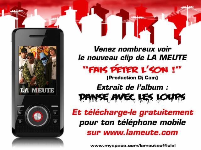 CLIP DE LA MEUTE GRATOS POUR TON MOBILE SUR WWW.LAMEUTE.COM !!!