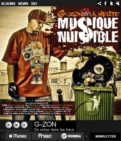 """L'ALBUM """"MUSIQUE NUISIBLE"""" SUR TOUTES LES PLATEFORMES MP3 BELIEVE DIGITAL"""