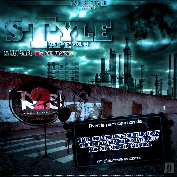"""RETROUVEZ G-ZON (LA MEUTE) SUR LA NET-TAPE """"STYLE TAPE VOL. 1"""" DE RAP2STYLE.COM !!!"""