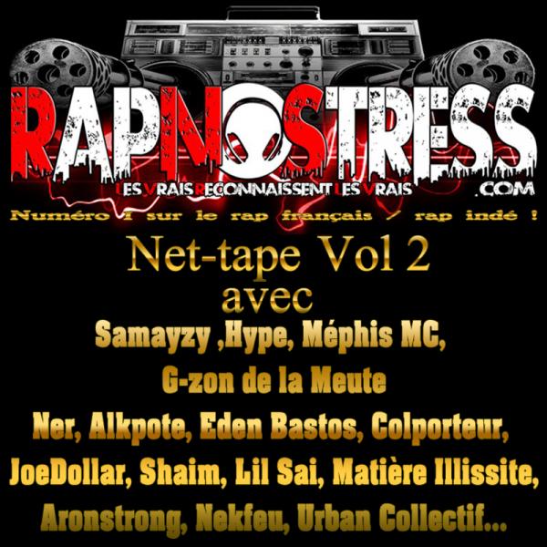RETROUVEZ G-ZON (LA MEUTE) SUR LA NOUVELLE NET-TAPE VOL. 2 DE RAPNOSTRESS.COM !!!