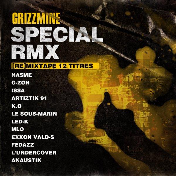 """RETROUVEZ G-ZON & HAKS SUR LA MIX-TAPE """"SPÉCIAL RMX"""" DE GRIZZMINE.COM !!!"""