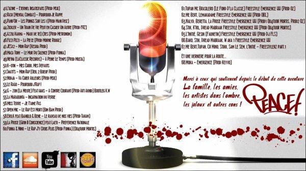 """RETROUVEZ G-ZON (LA MEUTE)  SUR LE COMPILATION """"Emergence Hip Hop vol.1"""" en téléchargement gratuit sur Grizzmine.com !"""