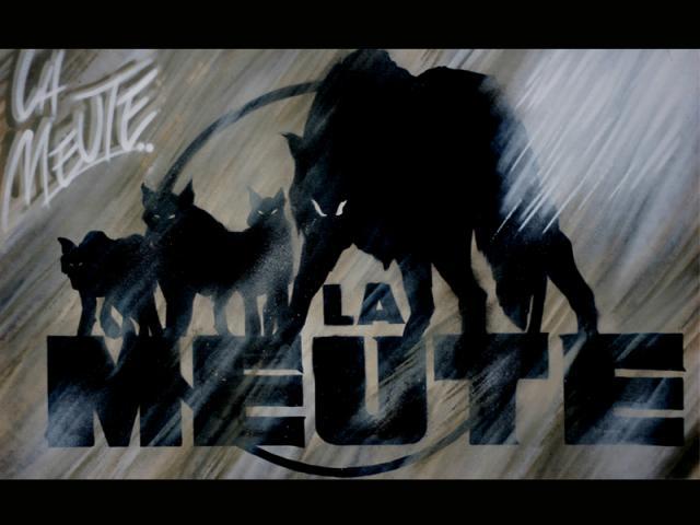"""Graff """"LA MEUTE"""" by TORE"""