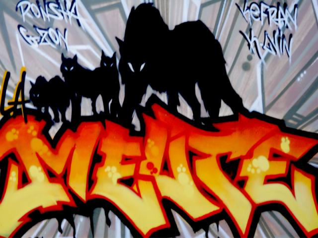 "Graff ""LA MEUTE"" by TORE"
