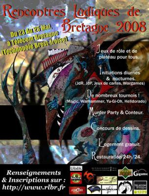 XXIèmes Rencontres Ludiques de Bretagne