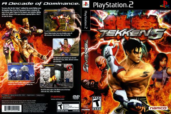 Critique Tekken 5 sur PS2