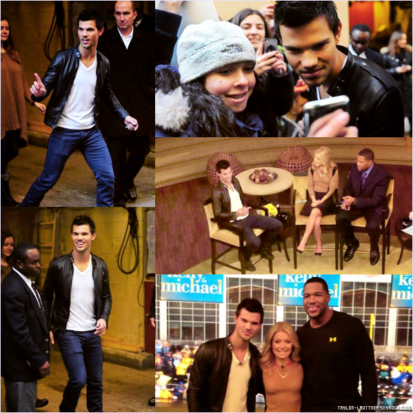 .  05.11.12  Taylor Lautner et Robert Pattinson étaient au ''The Ellen Show''.   .