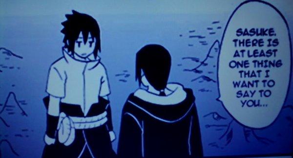 Sasuke et Itachi 1
