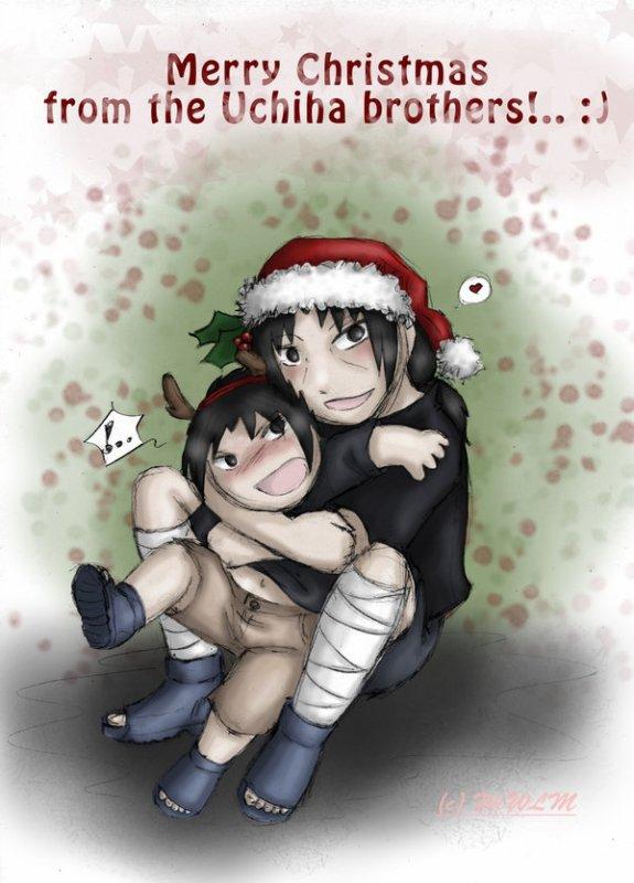 Joyeux noël Sasuke et Itachi