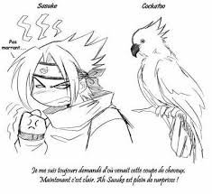 L'origine de la coupe de cheveux de Sasuke