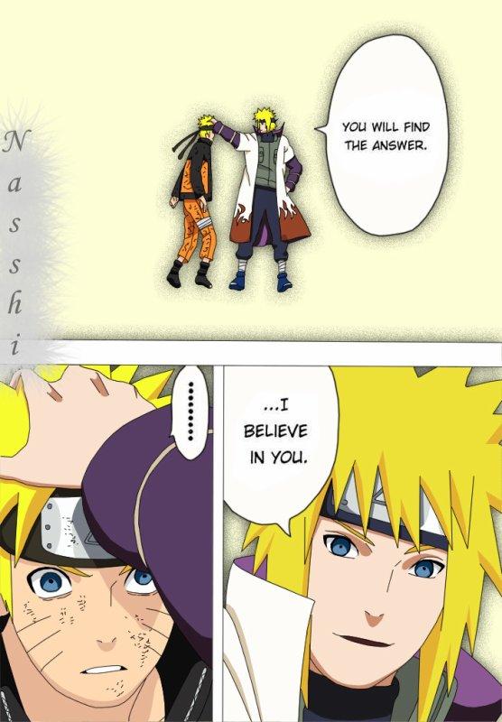 Minato et Naruto