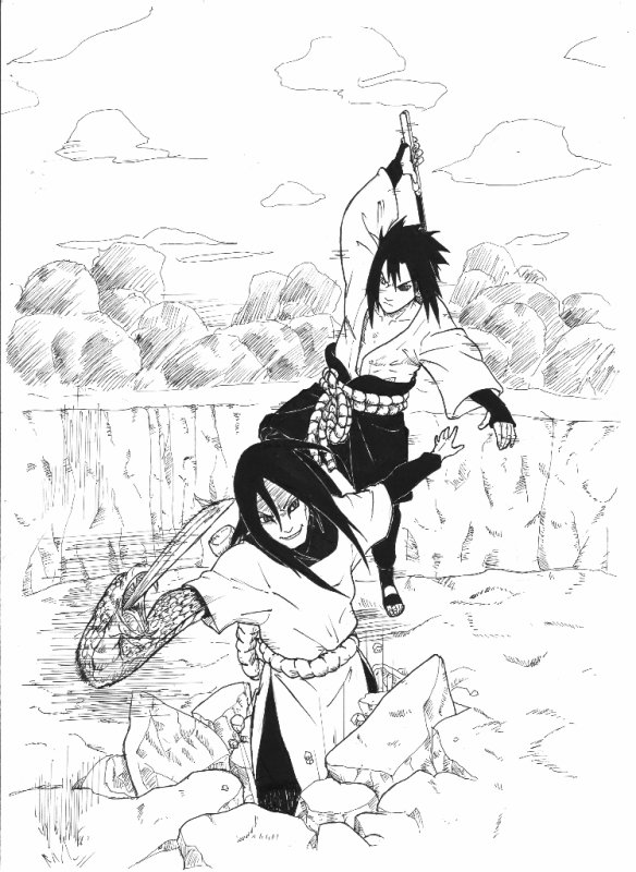 Chapitre 14 L'arrivée de Sasuke