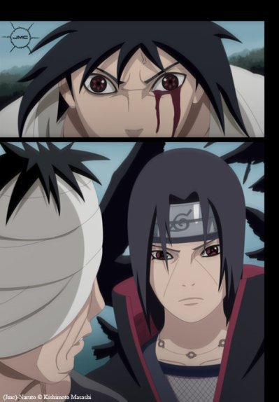 Chapitre 15 Itachi et Sasuke contre Danzô