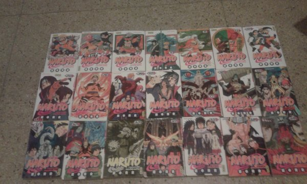 Ma collection de Naruto