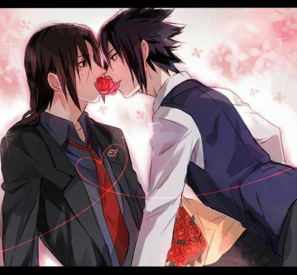 Saint Valentin version Sasuke et Itachi!