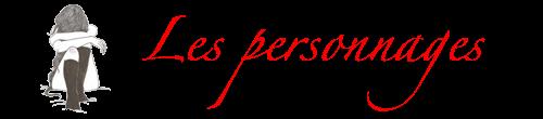 Inscription et personnages