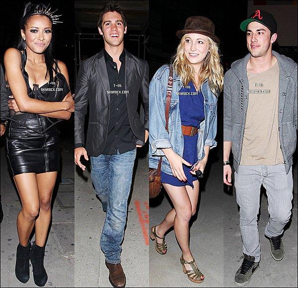 * 12/05/11 : Candice Accola, Katherina Graham, Steven McQueen, et Michael Trevino on étaient ont été photographiés à Los Angeles. *