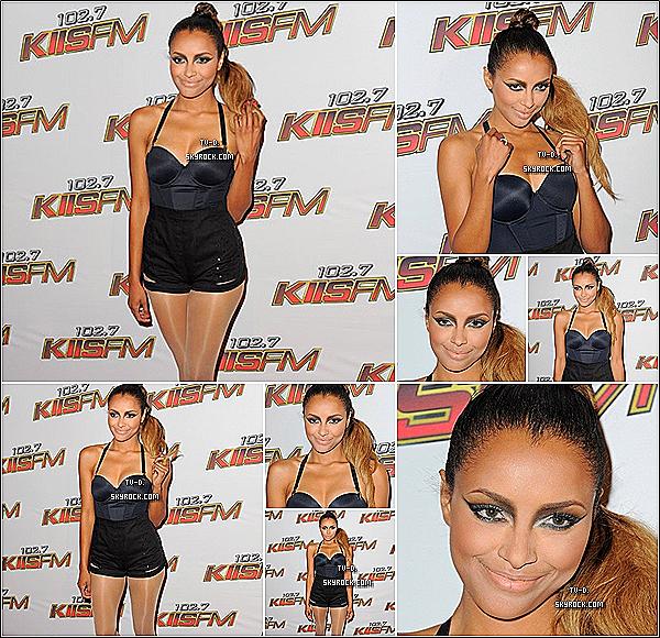 """* Katerina Graham a assisté """"KISS FM Wango-Tango concert"""" hier soir, le 14 mai à Los Angeles.*"""