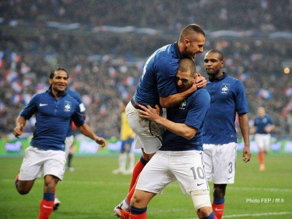 France 1-0 Brésil