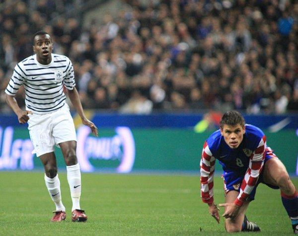 France 0-0 Croatie