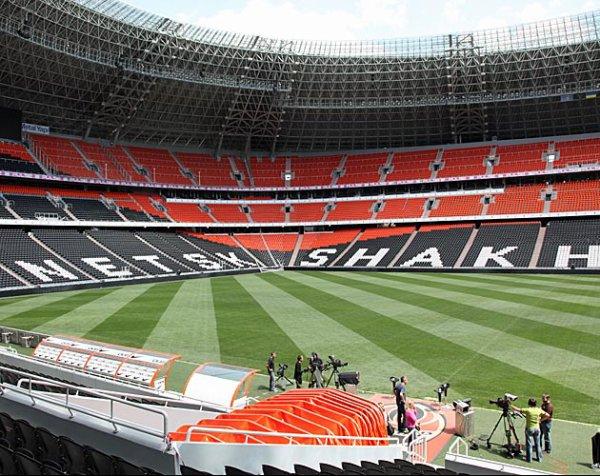 Ukraine - France : L'entraînement à la Donbass Arena
