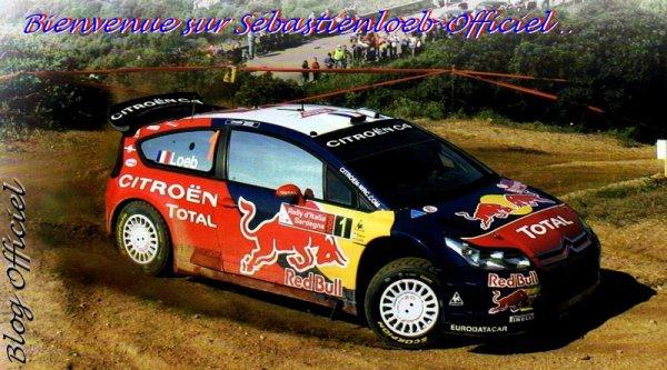 Bienvenue sur Sébastien Loeb Officiel !