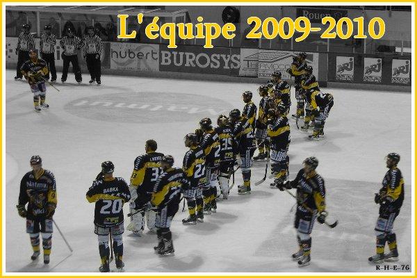 Equipe saison 2009-2010