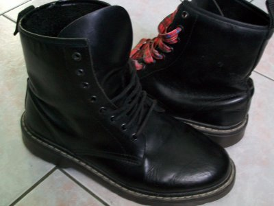 42 8 Ulwiqiic Boots Uk 1420 Dr Martens Black Leather Eu