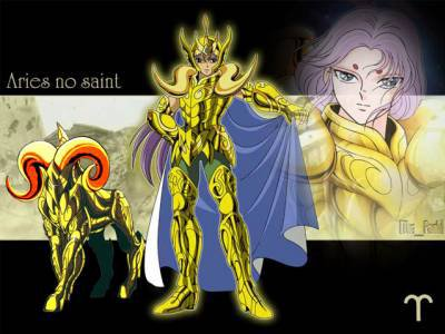 mu du bélier et mon chevalier d'or préféré