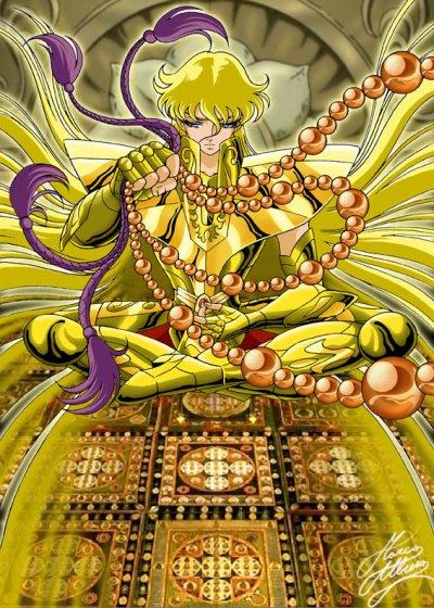 le chevalier d'or de la vierge shaka - mon deuxième préféré