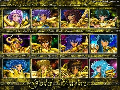 une très belle image des chevalier d'or