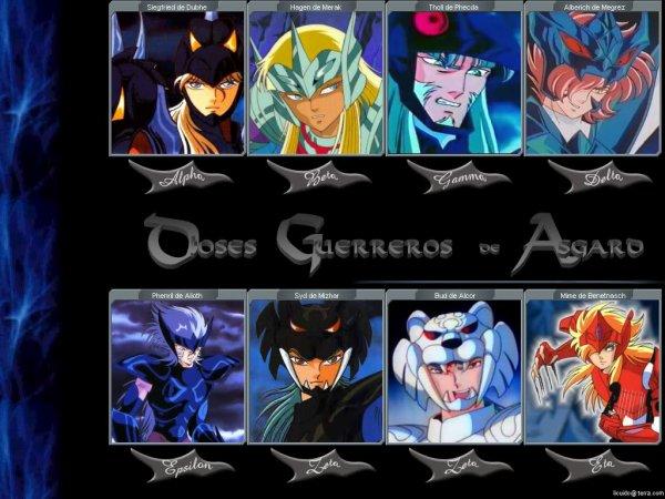 les chevaliers d asgard