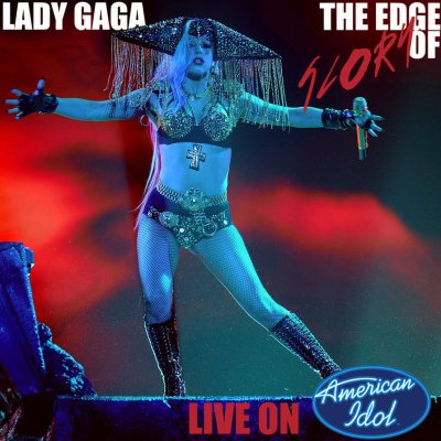 "Lady Gaga - Live de ""The Edge Of Glory"""