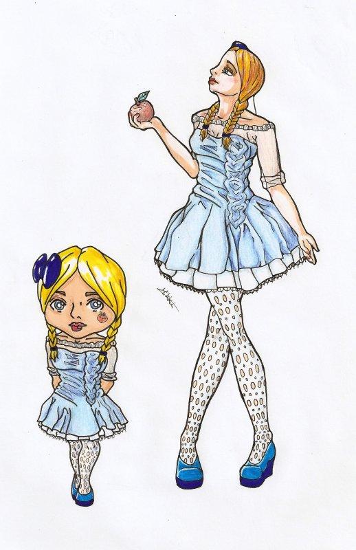 Et parce que le dessin c'est pas juste des petits gens tout nus, Voici un dessin de moi qui date d'aujourd'hui!