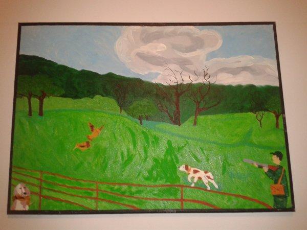 voici divers tableaux en peinture a l huile