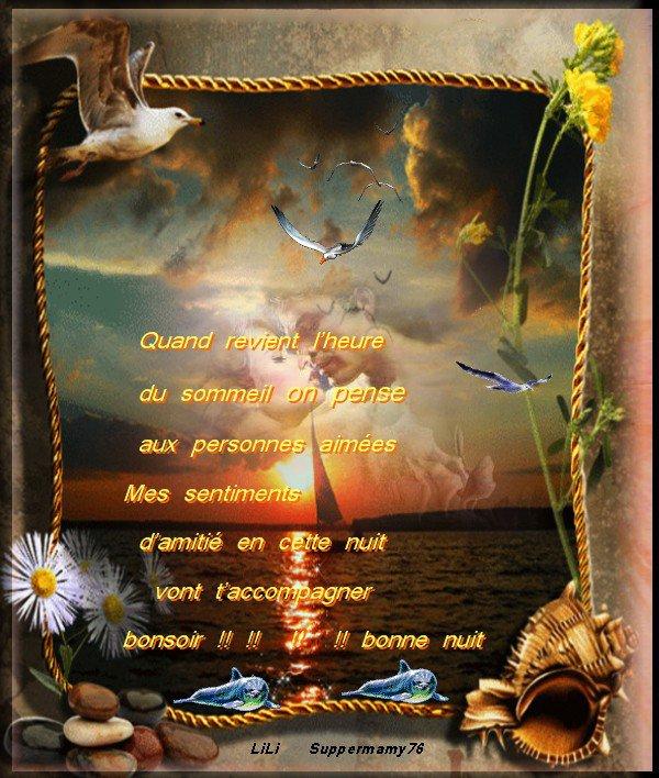 Bonne Nuit Amour Et Amitiee