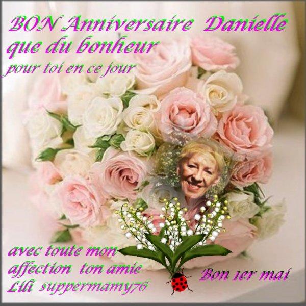 Bon Anniversaire A Mon Amie Danielle Slobodane Amour Et