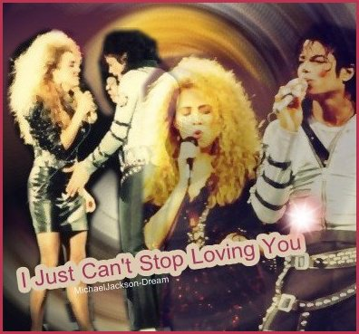 • • Album Bad : I Just Can't Stop Loving You ♥