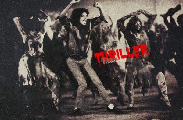 • • Album Thriller : Thriller ♥