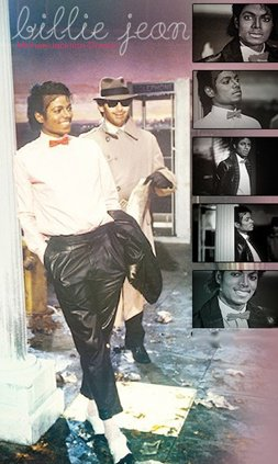 • • Album Thriller : Billie Jean ♥